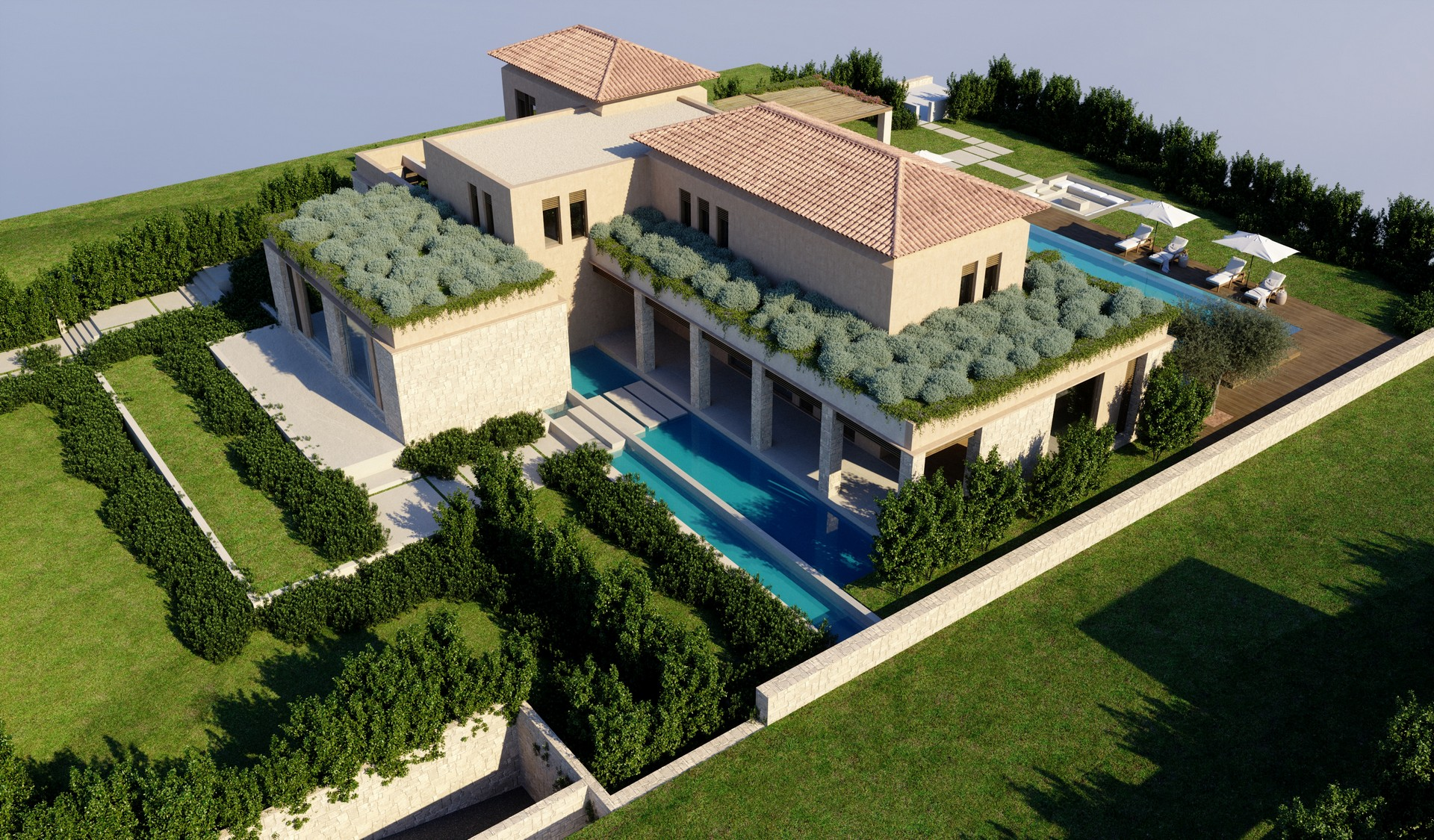 Residential Villa In The Peloponesse